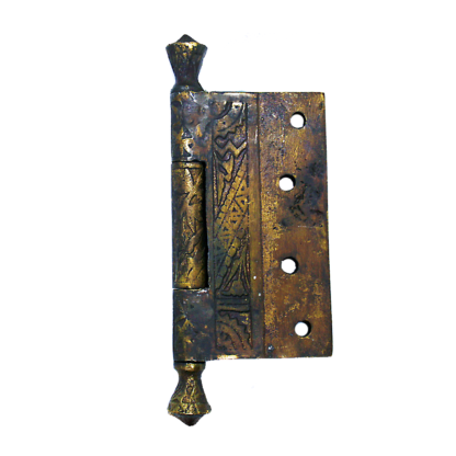 East Lake Style Reproduction Block Top Hinge Side View